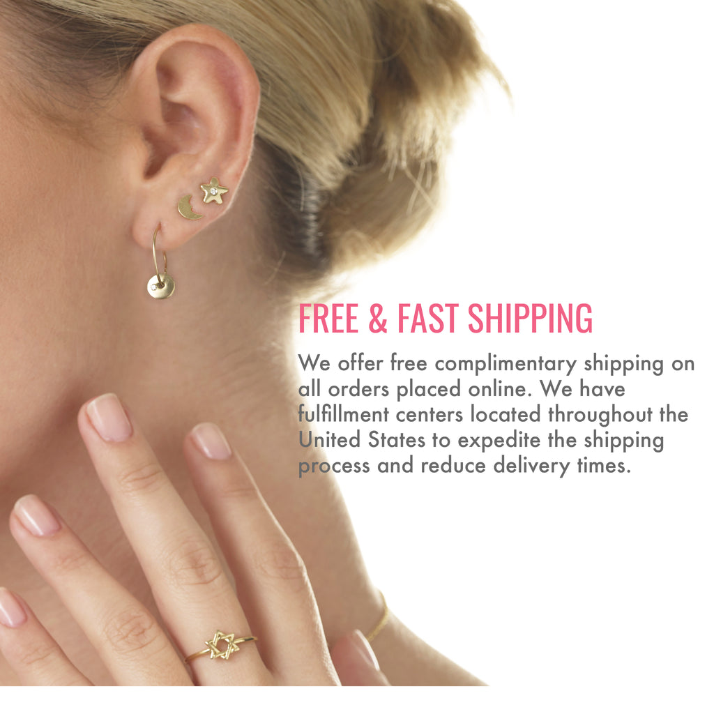 Free and fast shipping. We offer free complimentary shipping on all orders placed online. We have fulfillment centers located throughout the United States to expedite the shipping process and reduce delivery times.