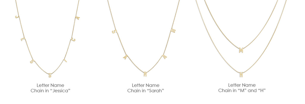 Helen's Fine Chain lovingly crafted with Solid 14k Yellow Gold. Size 16-36 inches. Custom Necklace. All Sales Final. Gift Wrapped. Free Express Shipping.