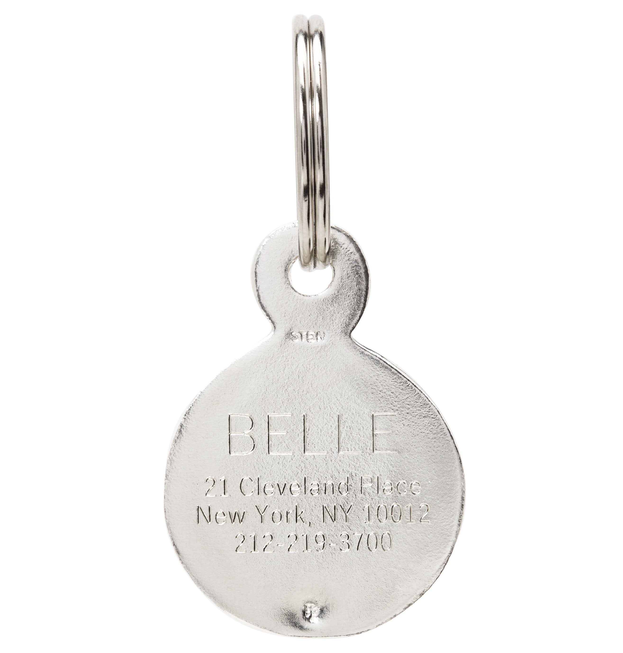 Large Paw Print Pet Tag Jewelry Helen Ficalora