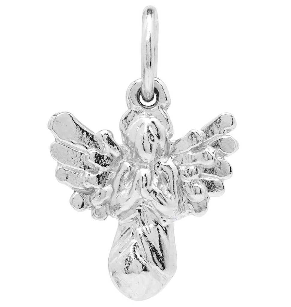 Angel Mini Charm Jewelry Helen Ficalora Sterling Silver For Necklaces And Bracelets