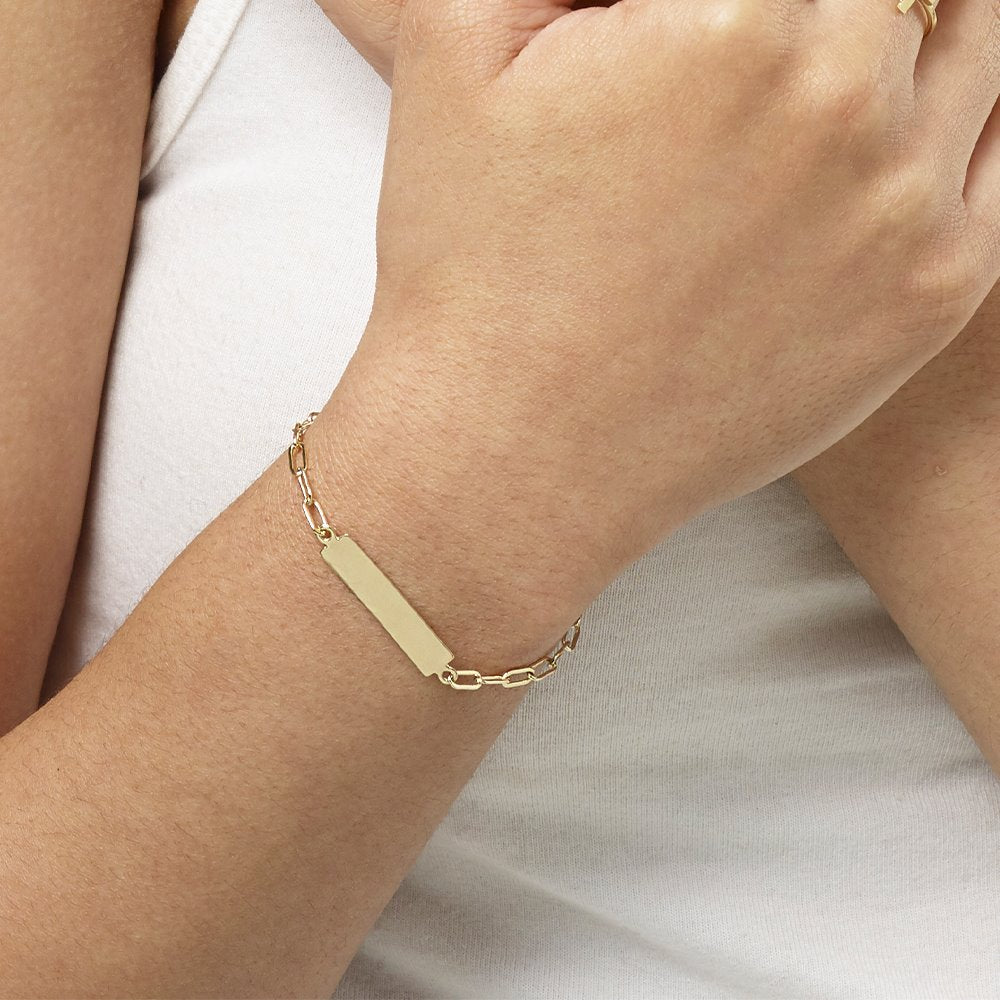 Bar Bracelet Jewelry Helen Ficalora 14k Yellow Gold