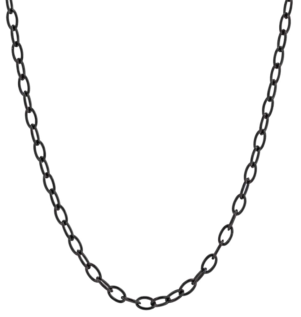 Black Oval Chain