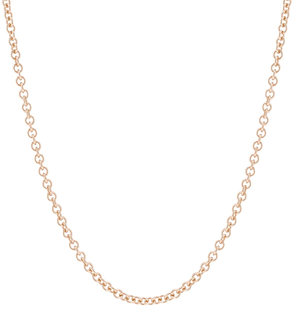 Chunky Fine Chain Rose Gold Jewelry For Necklaces From Helen Ficalora