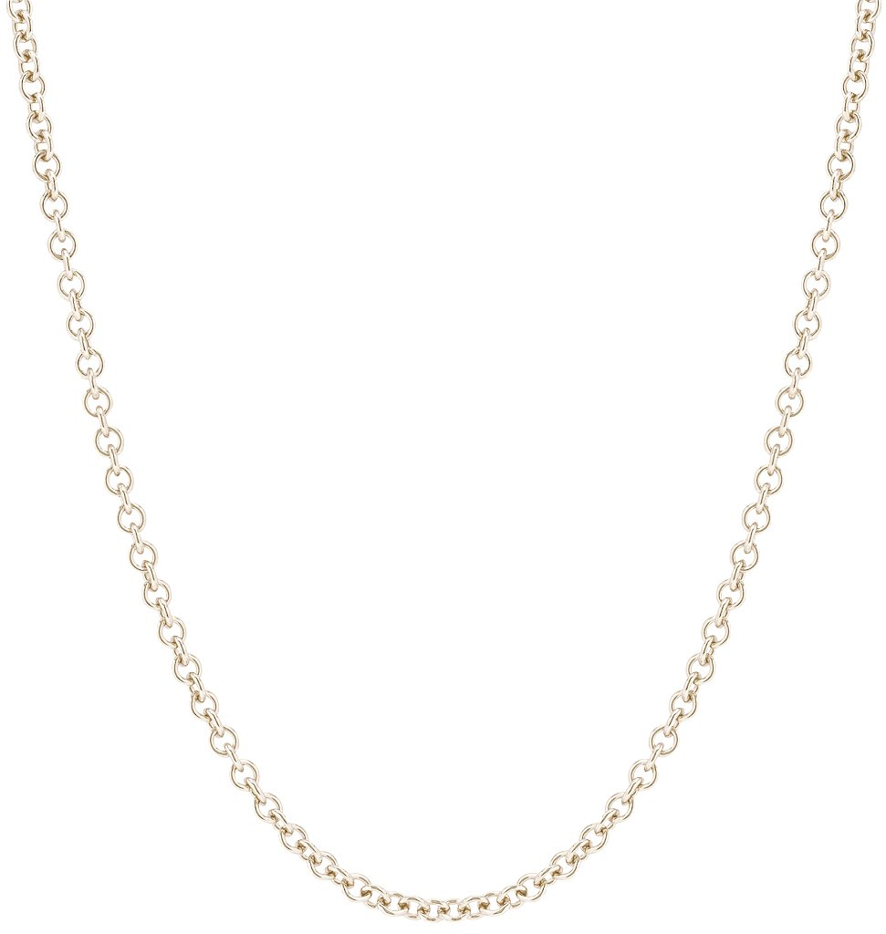 Chunky Fine Chain White Gold Jewelry For Necklaces From Helen Ficalora