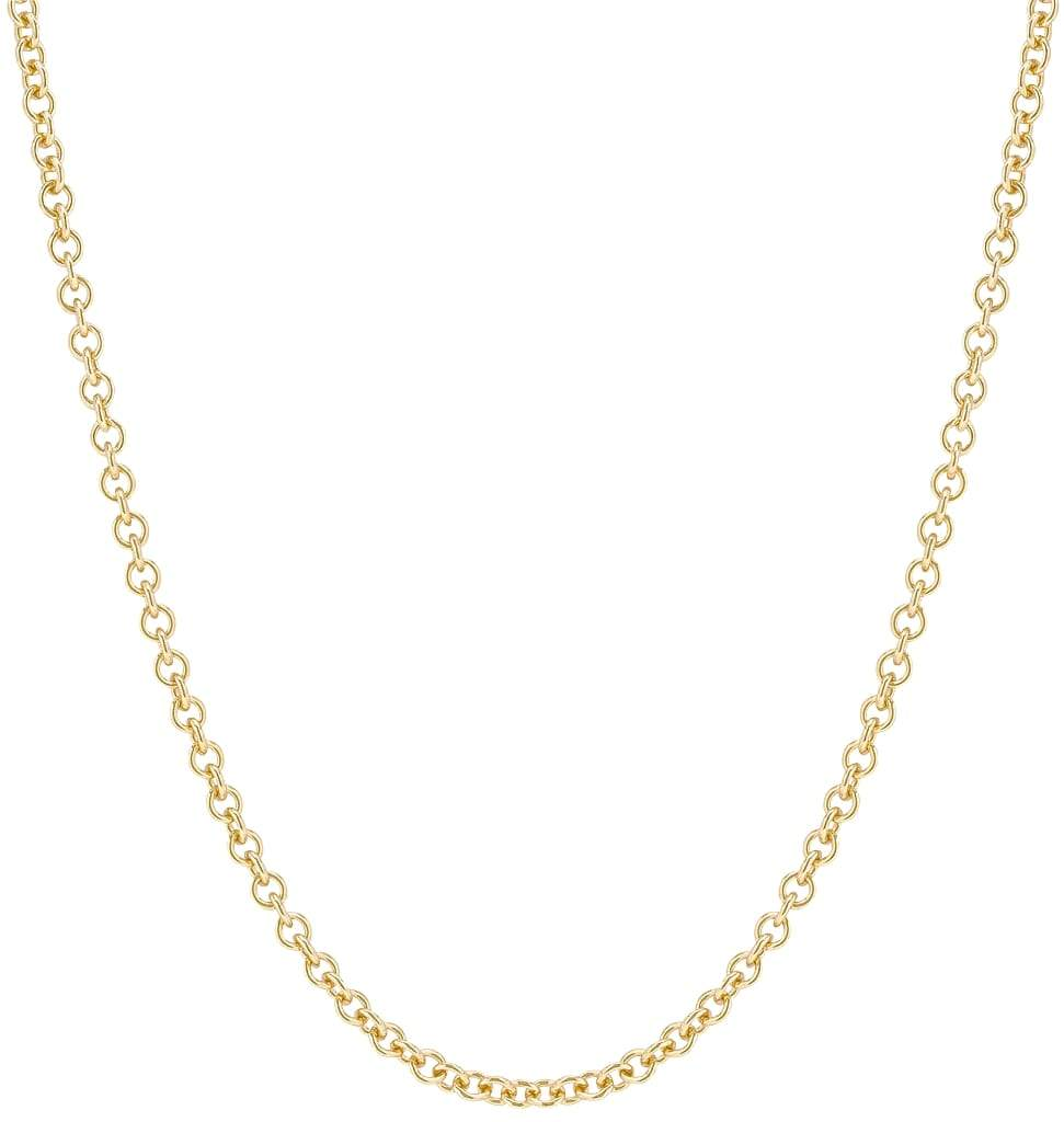 Chunky Fine Chain Yellow Gold Jewelry For Necklaces From Helen Ficalora