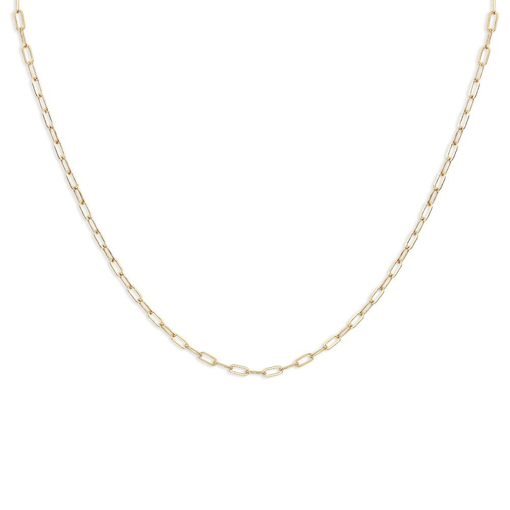 Helen Ficalora Jewelry Oval Chain For Necklaces 14k Yellow Gold