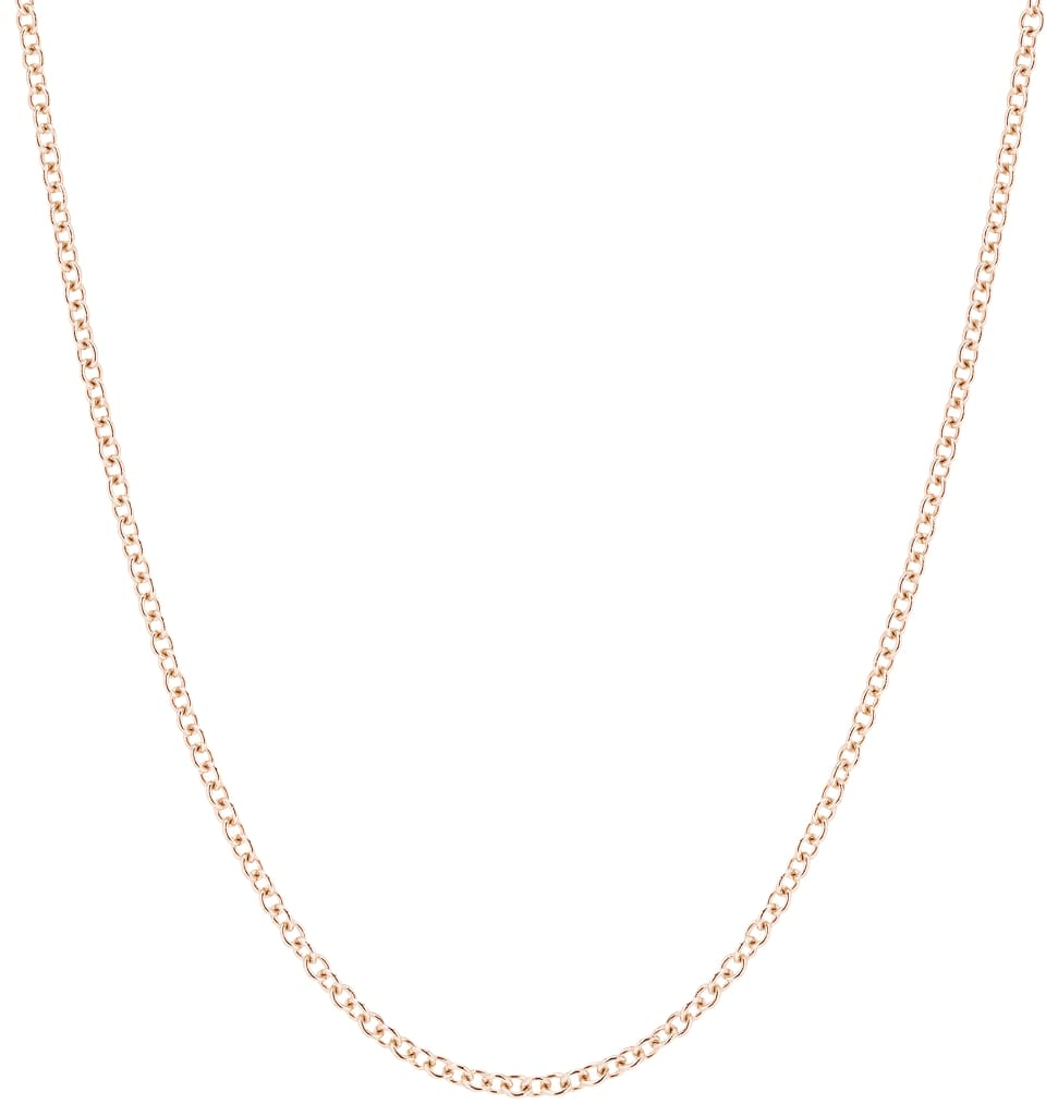 Medium Fine Chain Rose Gold Jewelry For Necklaces From Helen Ficalora