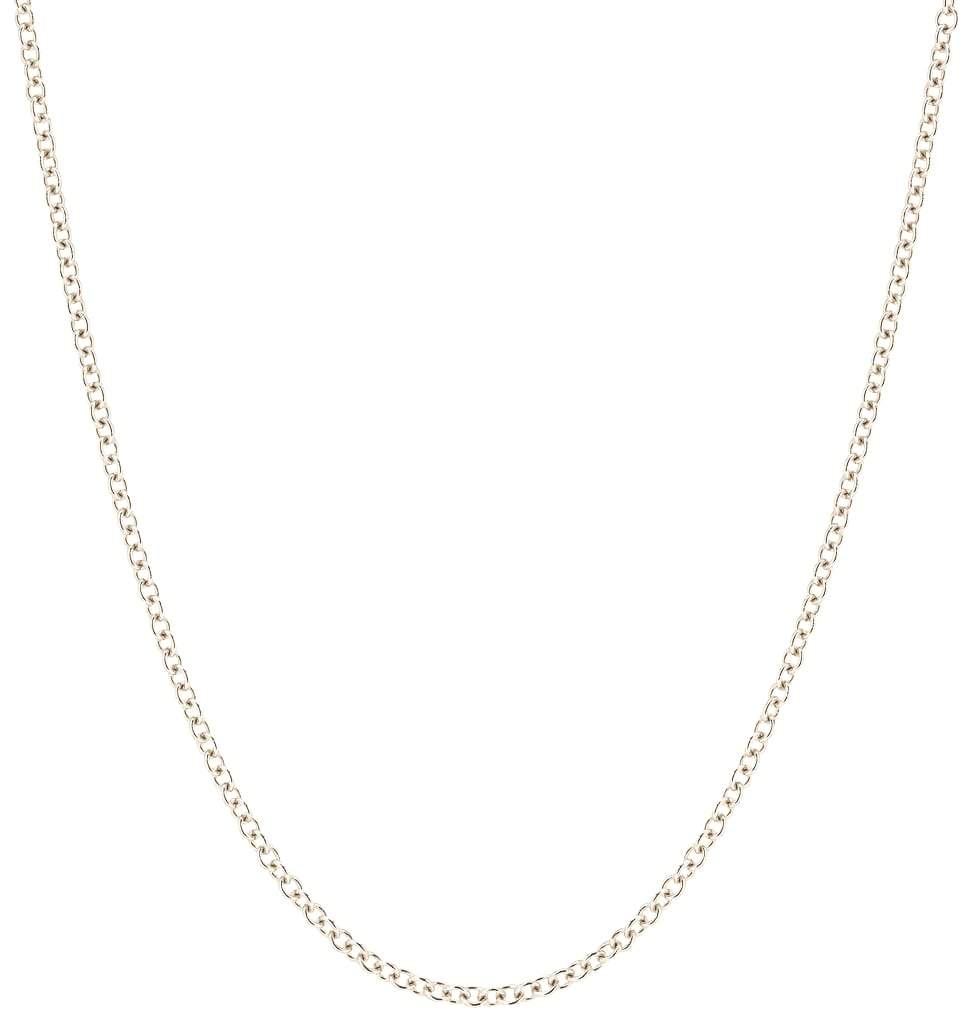 Medium Fine Chain White Gold Jewelry For Necklaces From Helen Ficalora