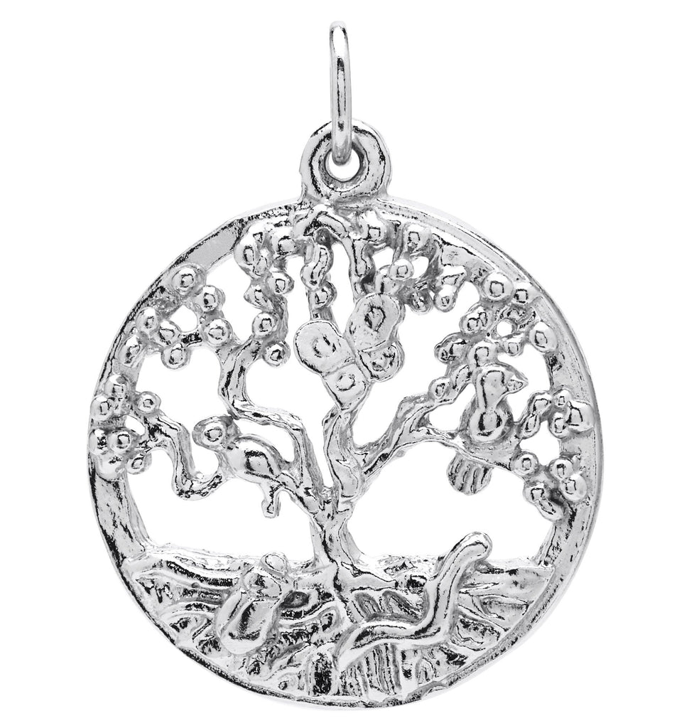 Tree of Life Charm Jewelry Helen Ficalora Sterling Silver