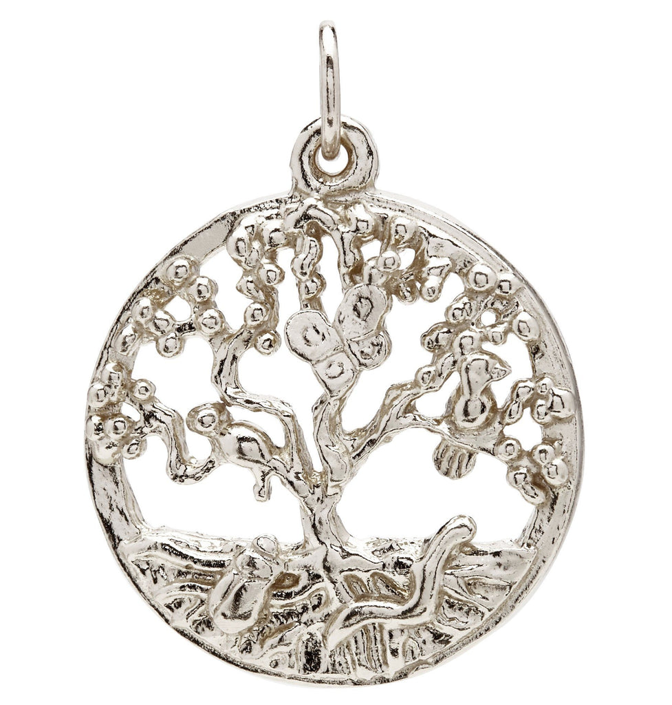 Tree of Life Charm Jewelry Helen Ficalora 14k White Gold