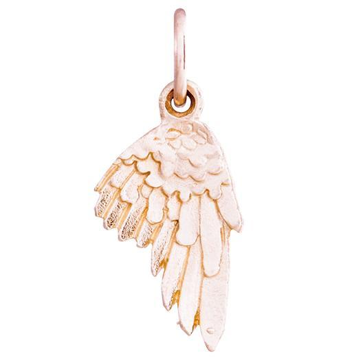 Angel Wing Mini Charm Jewelry Helen Ficalora 14k Pink Gold For Necklaces And Bracelets