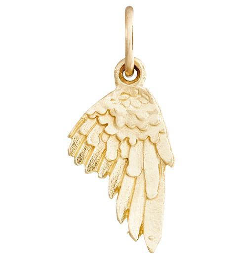 Angel Wing Mini Charm Jewelry Helen Ficalora 14k Yellow Gold For Necklaces And Bracelets