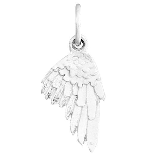 Angel Wing Mini Charm Jewelry Helen Ficalora Sterling Silver For Necklaces And Bracelets
