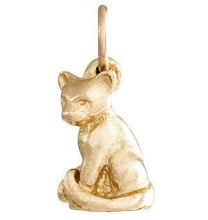 Cat Mini Charm Jewelry Helen Ficalora 14k Yellow Gold For Necklaces And Bracelets