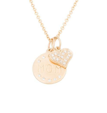 A Mother's Love - 14k Yellow Gold - Jewelry - Helen Ficalora