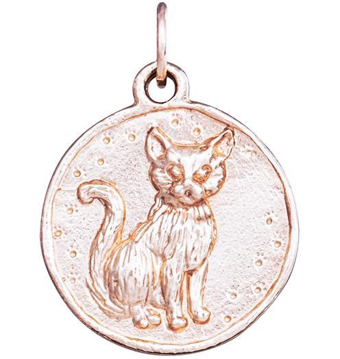 Cat Coin Charm Jewelry Helen Ficalora 14k Pink Gold For Necklaces And Bracelets