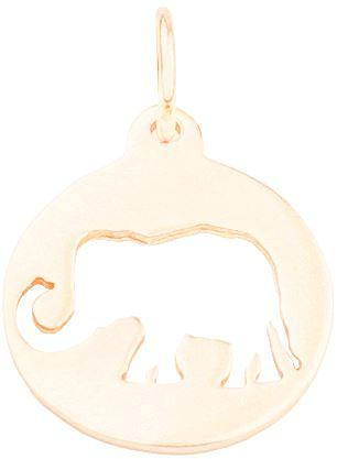 Elephant Cutout Charm Jewelry Helen Ficalora 14k Yellow Gold