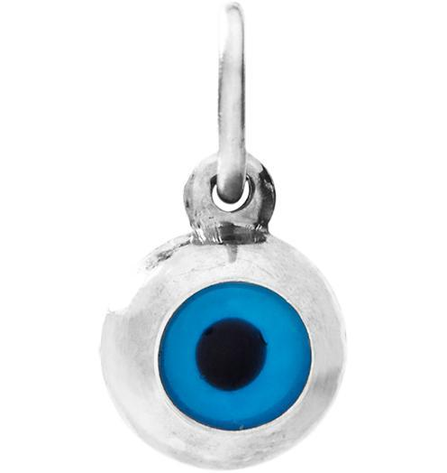 Evil Eye Mini Charm - Sterling Silver - Jewelry - Helen Ficalora - 4