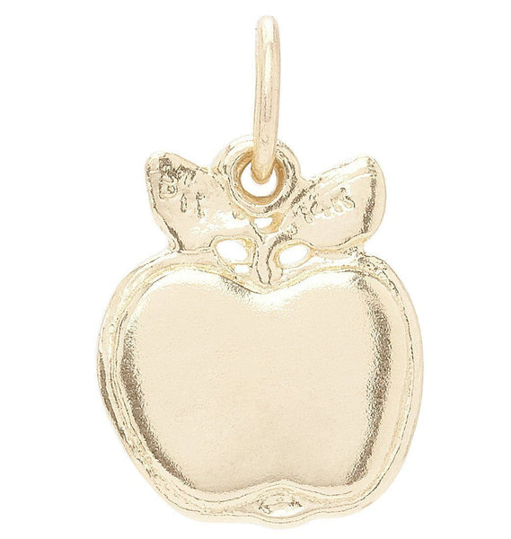 Jewelry - Flat Apple Mini Charm
