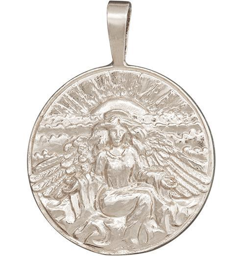 Hope Angel Charm Jewelry Helen Ficalora 14k White Gold