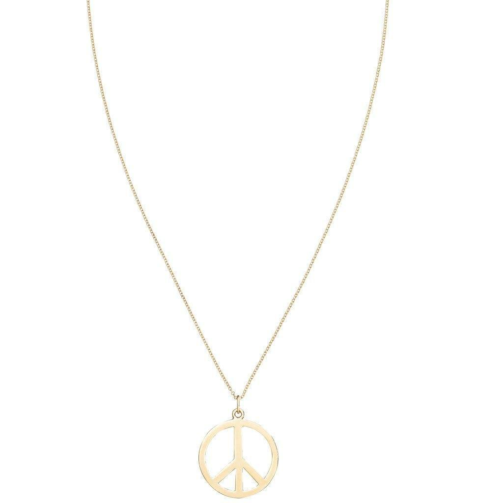Large Peace Sign Cutout Charm -  - Jewelry - Helen Ficalora - 5