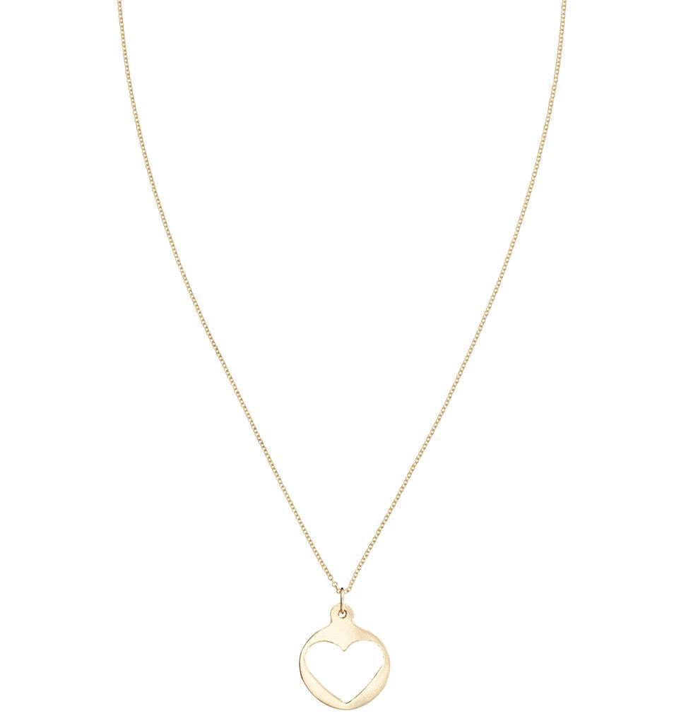 Medium Heart Cutout Charm Jewelry Helen Ficalora