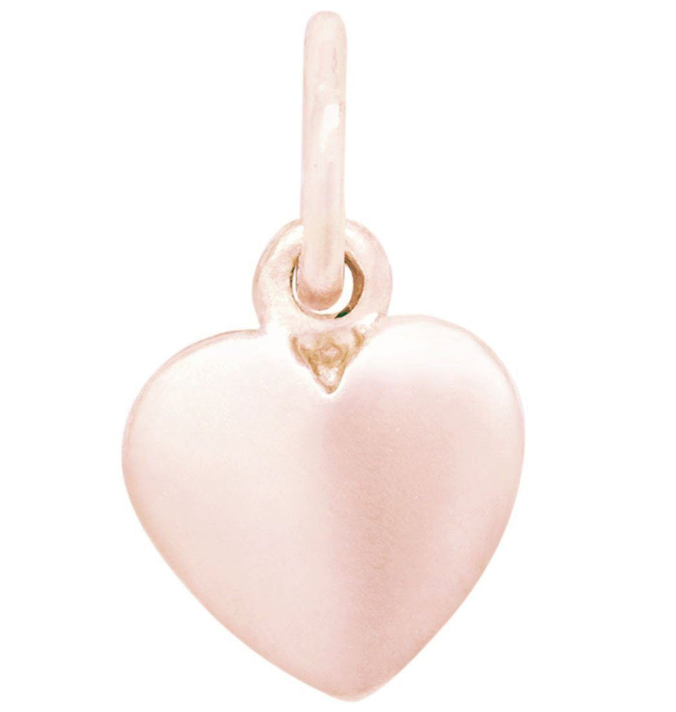 Medium Puffy Heart Charm Jewelry Helen Ficalora 14k Pink Gold