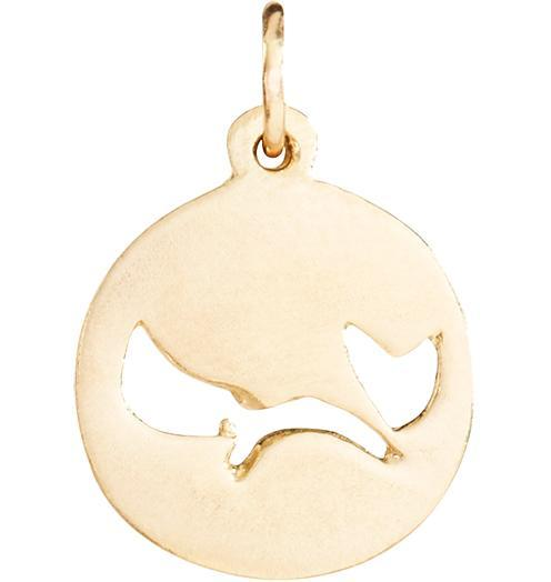 Michael J. Fox Charm - 14k Yellow Gold / 16in - Jewelry - Helen Ficalora - 1