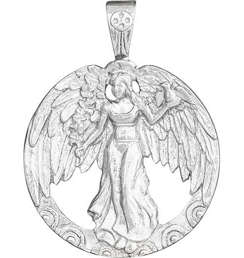 Peace Angel Charm - Sterling Silver - Jewelry - Helen Ficalora - 4