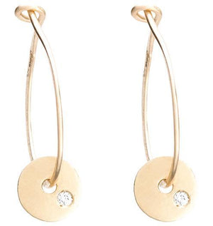 Small Hoop Earrings Jewelry Helen Ficalora 14k Yellow Gold