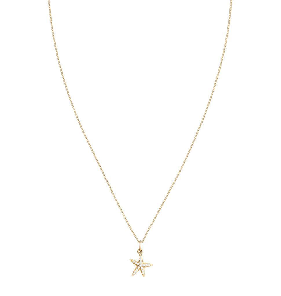 Starfish Mini Charm Pave Diamonds -  - Jewelry - Helen Ficalora - 4