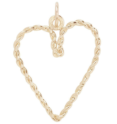 Jewelry - Twisted Heart Charm