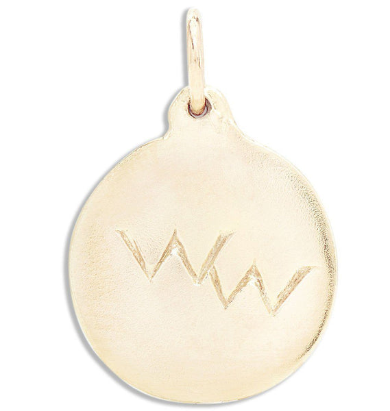 Jewelry - Wonderful Woman Disk Charm