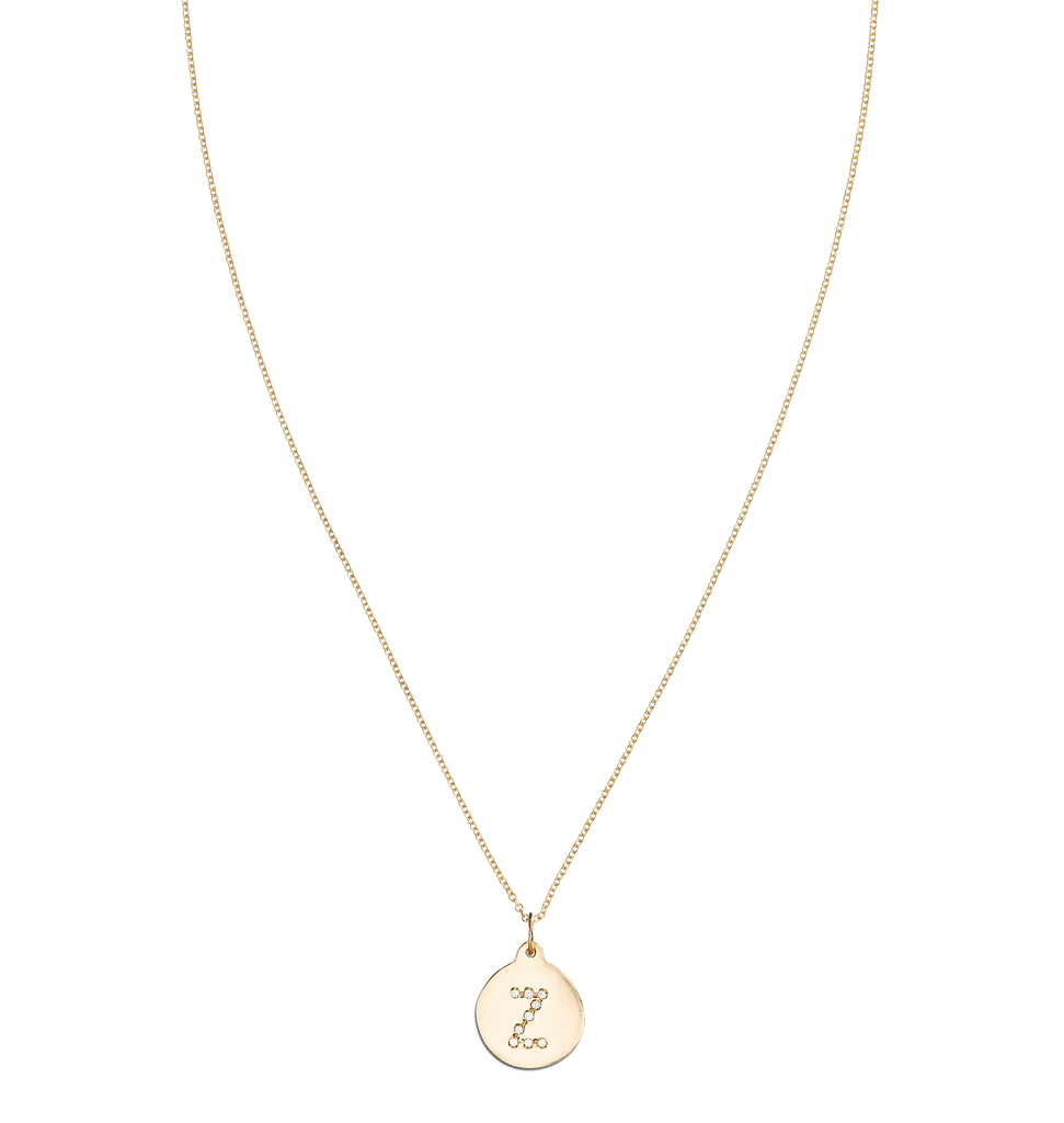 """Z"" Alphabet Charm Pave Diamonds -  - Jewelry - Helen Ficalora - 4"