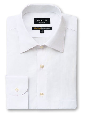 Gold Label White MTO Shirt