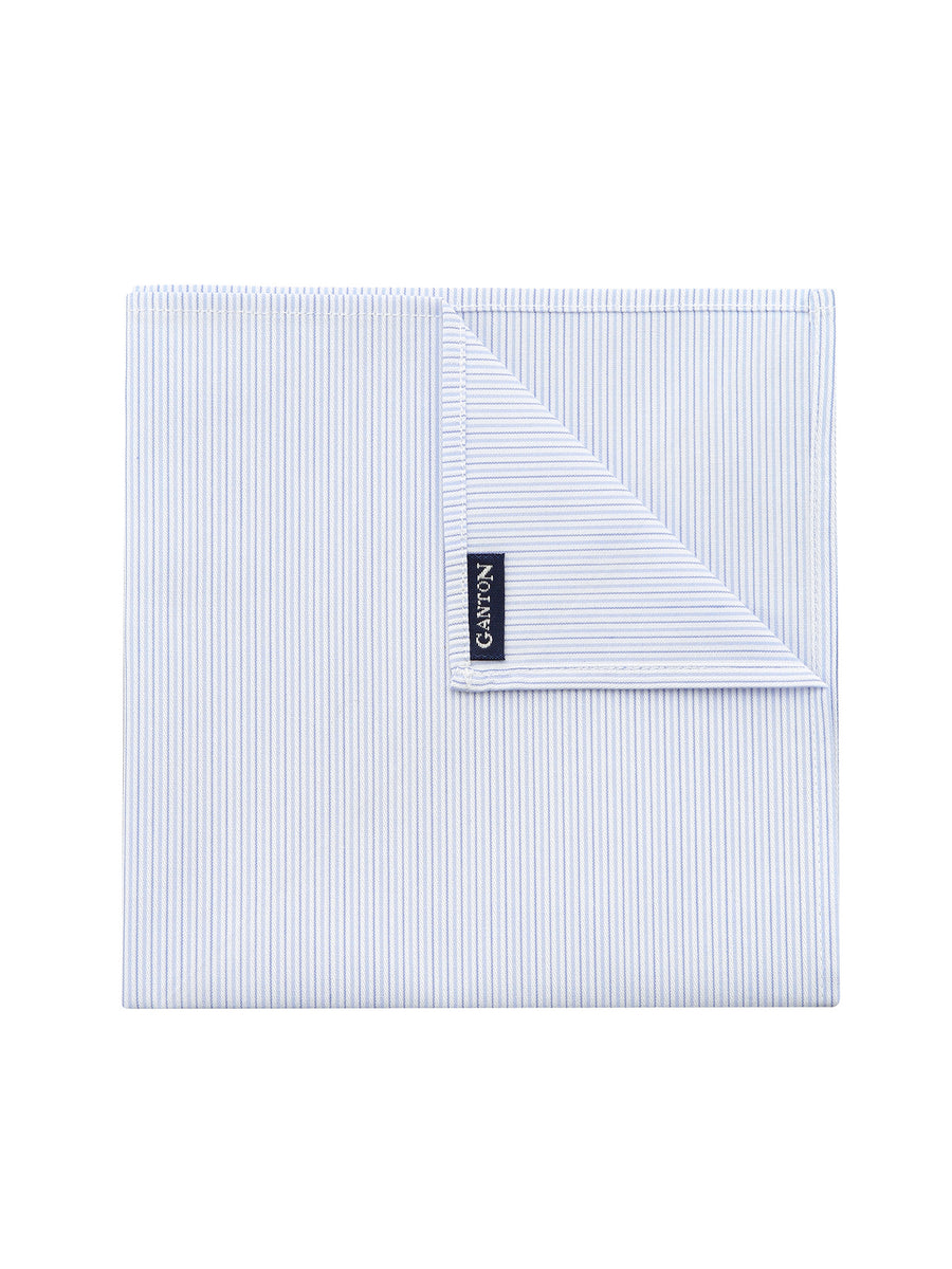 Sky Stripe Pocket Square