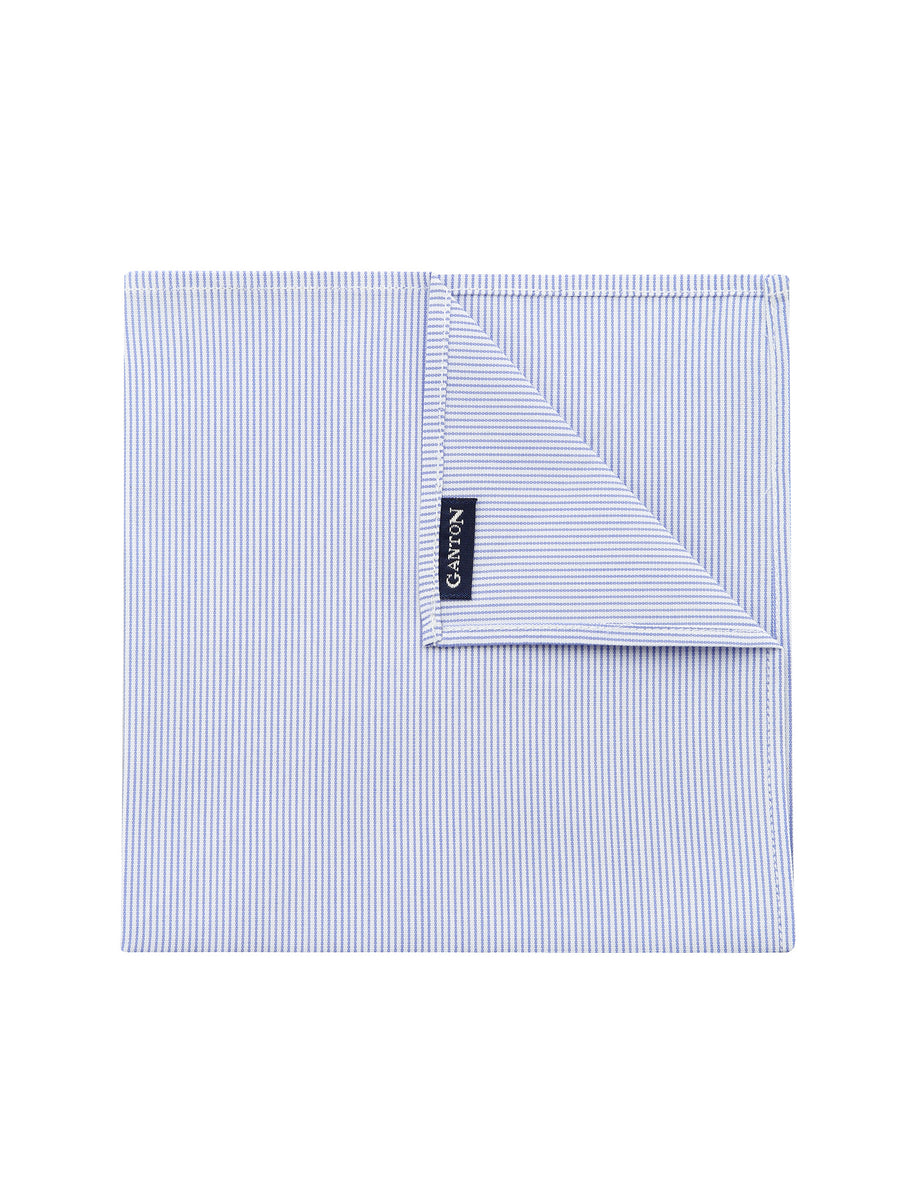 Thin Blue Stripe Pocket Square