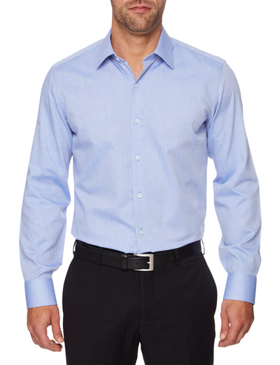 Ganton Anthony Textured Shirt Model shot