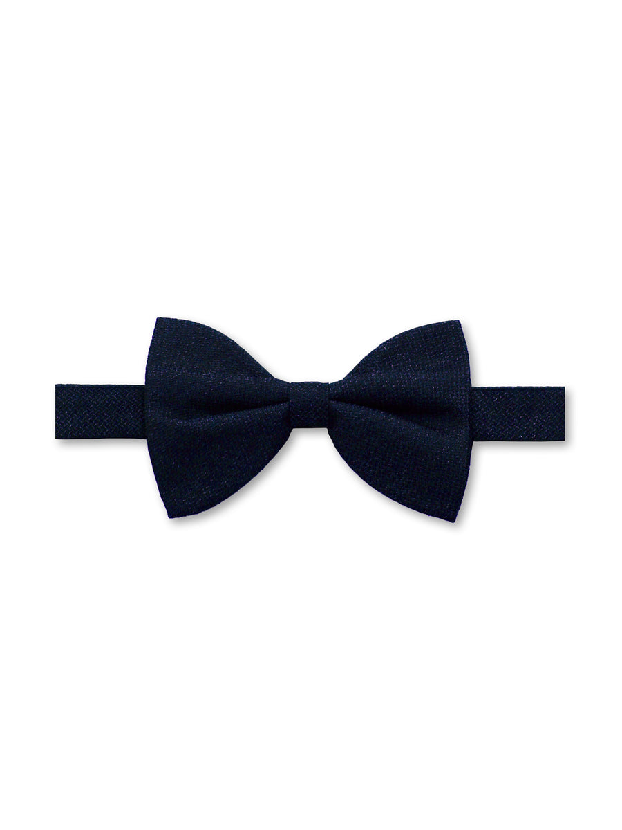 Navy Silk Dinner Bow Tie