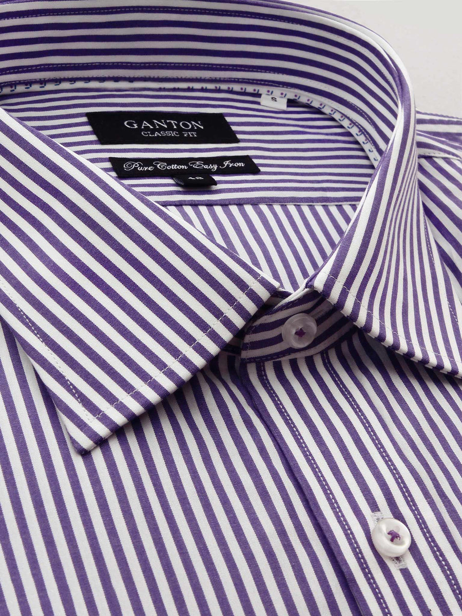 Les Stripe Shirt - Stout