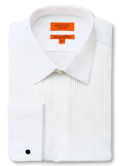 Asher Pleated Dinner Shirt