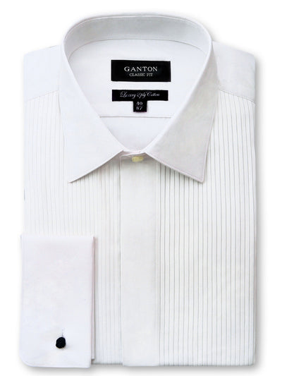 Alexander Pleated Dinner Shirt