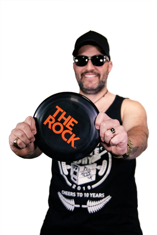 THE ROCK FRISBEE