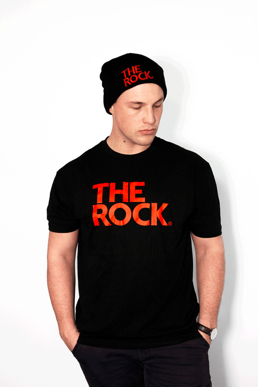 THE ROCK LOGO T-SHIRT