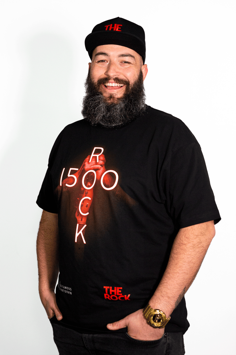 THE ROCK 1500 LIMITED EDITION 2018 MENS TEE