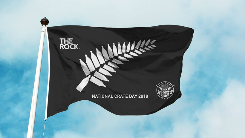 NATIONAL CRATE DAY 2018 FERN FLAG