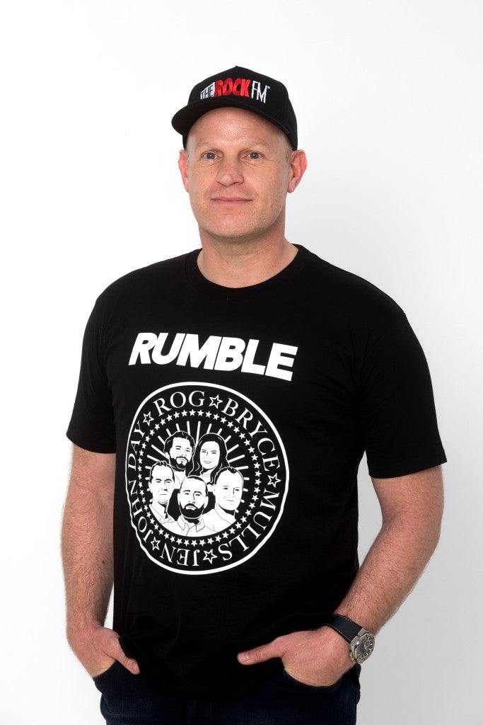 RETRO MORNING RUMBLE T-SHIRT