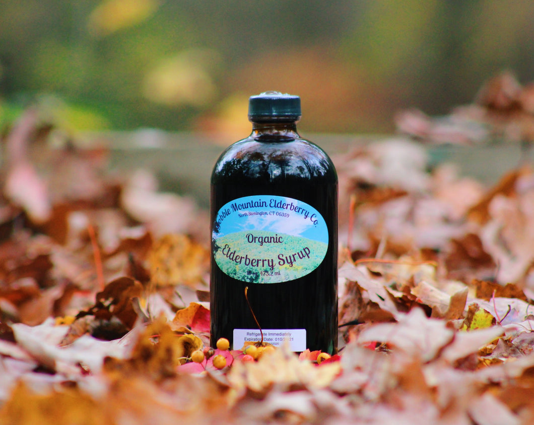 Organic Elderberry Syrup For Adults/Kids