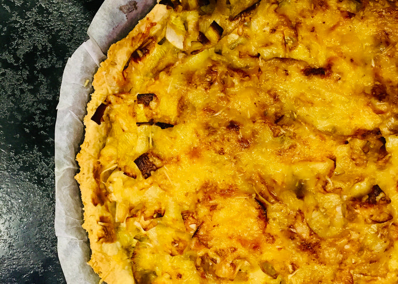 Healthy Leek Quiche