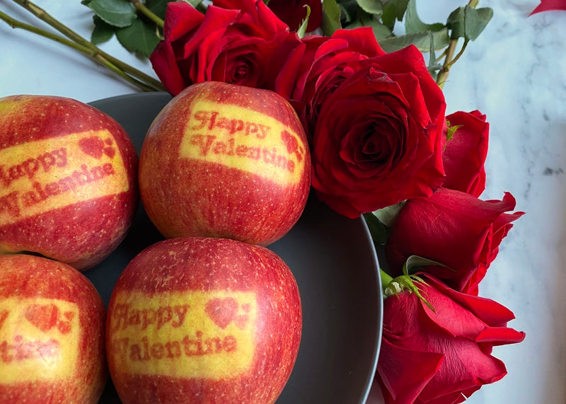 Valentine's Day Apples